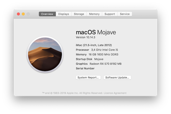 Switching my Hackintosh from NVIDIA to AMD because of Mojave