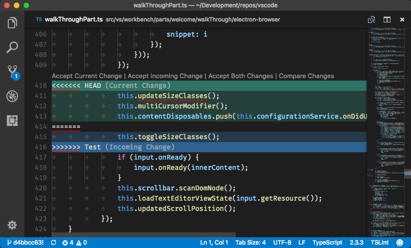 Using Visual Studio Code as Git merge tool - Igor Kulman